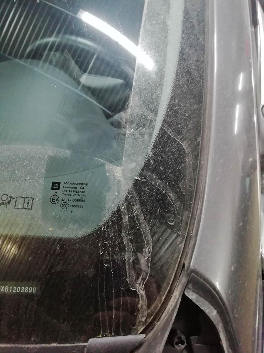 лобовое стекло на opel insignia