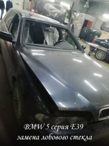 лобовое стекло на BMW 5 - продажа и замена