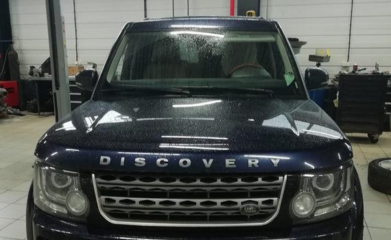 Автостекло на LAND ROVER DISCOVERY. Продажа и установка