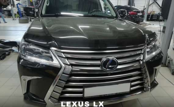 замена лобового стекла на lexus lx