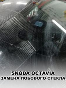 Лобовое стекло на SKODA OCTAVIA - купить и установить в Москве