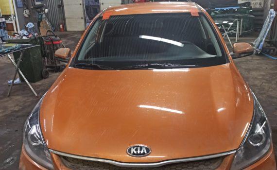 Замена лобового стекла Kia Rio 2020