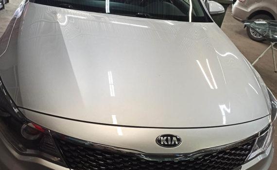 Замена лобового стекла на Kia Optima 2018 г